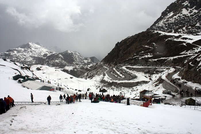 Snow Place in India – Nathula Pass